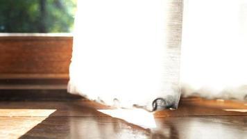 Seamless video loop of dust in room.