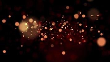 Abstract Blurred Lights Bokeh Background.