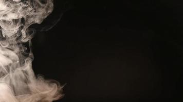 atmosphärischer Rauchnebeleffekt. vfx-Element. Dunst Hintergrund. abstrakte Rauchwolke.
