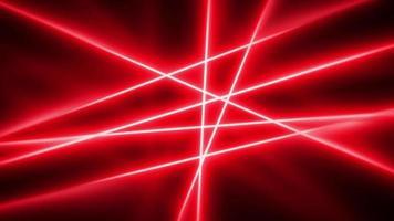 fundo abstrato em câmera lenta de raios de luz laser video