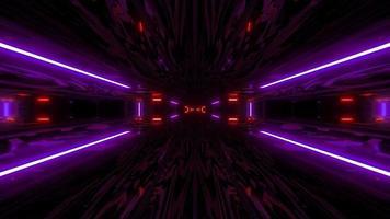 túnel de glitter scifi texturizado video