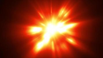 flash abstrato explosão de luz de fundo loop video