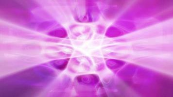 formas de onda de luz fractal ondulación y brillo video