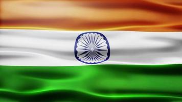 laço de bandeira da índia video