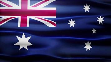 loop bandiera australia video