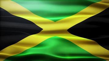 bandiera della Giamaica loop video