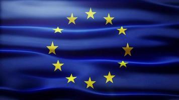 loop bandiera UE video