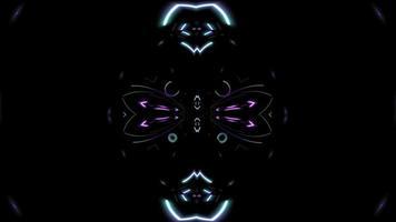 loop de fundo colorido abstrato video