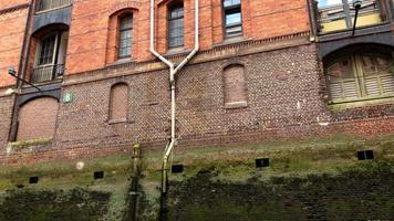 Old Warehouse District Speicherstadt di Amburgo video