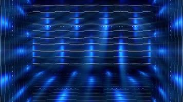 estruturas futuristas e fundo de luzes video