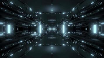 loop de túnel sci-fi video