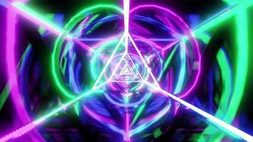 design a triangolo multicolore
