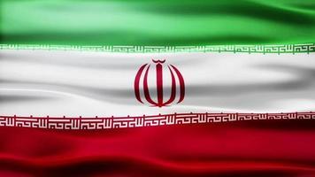 loop bandiera iran video