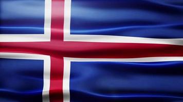 lazo de la bandera de islandia video