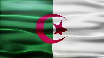algeria flag loop