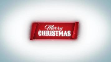 buon natale inverno banner