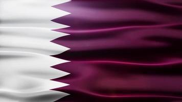 bandiera del qatar loop video