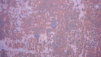 textura metálica enferrujada com tinta surrada
