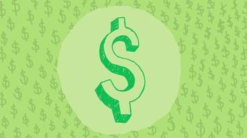 Dollar Sign Doodle video
