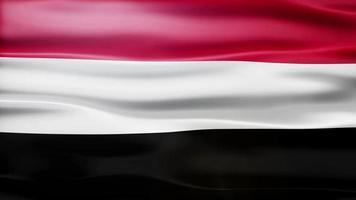 ciclo di bandiera dello Yemen video
