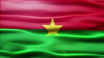 lazo de la bandera de burkina faso