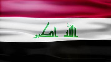 iraq flag loop video