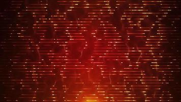 Abstract Left to Right Fractal Technology Background Loop video