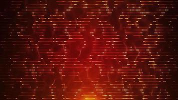 boucle de fond de technologie fractale abstraite de gauche à droite video