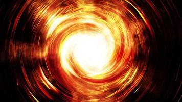 fundo de energia de círculos brilhantes video