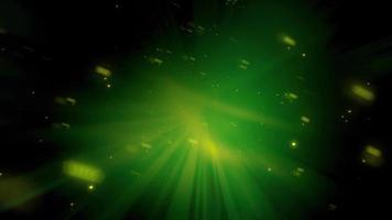 poussière de fée abstraite vert foncé