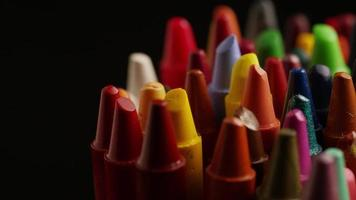 tiro giratório de giz de cera colorido para desenho e artesanato - giz de cera 005