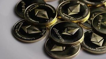 foto giratória de bitcoins ethereum (criptomoeda digital) - bitcoin ethereum 0093