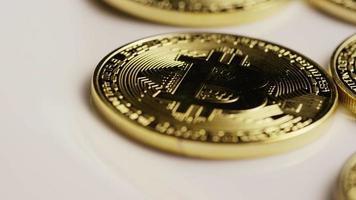 colpo rotante di bitcoin (criptovaluta digitale) - bitcoin 0133