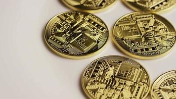 Tir rotatif de bitcoins (crypto-monnaie numérique) - bitcoin 0145
