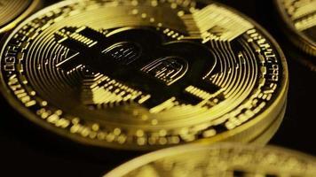 colpo rotante di bitcoin (criptovaluta digitale) - bitcoin 0085