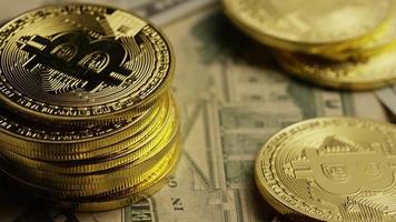 Tir rotatif de bitcoins (crypto-monnaie numérique) - bitcoin 0200 video
