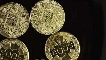 Tir rotatif de bitcoins (crypto-monnaie numérique) - bitcoin 0497