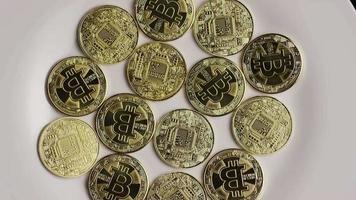 Tir rotatif de bitcoins (crypto-monnaie numérique) - bitcoin 0334