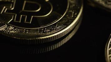 colpo rotante di bitcoin (criptovaluta digitale) - bitcoin 0514