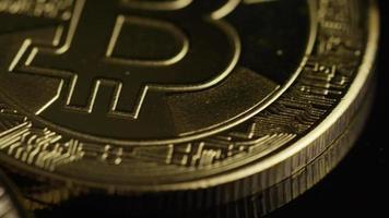 colpo rotante di bitcoin (criptovaluta digitale) - bitcoin 0480