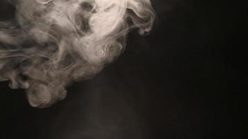 efeito de névoa de fumaça atmosférica. elemento vfx. fundo de névoa. nuvem de fumaça abstrata. video