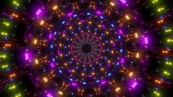 luzes brilhantes giratórias