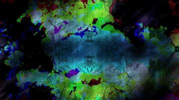 bucle de fondo grunge colorido video