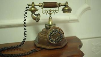 teléfono antiguo de la vendimia