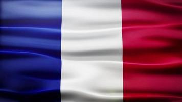 loop di bandiera della Francia video