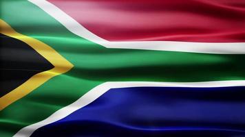 loop di bandiera del sud africa video