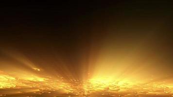 Estructuras futuristas y fondo de luces. video