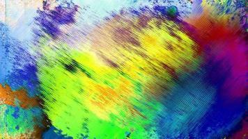 boucle de fond art grunge coloré video