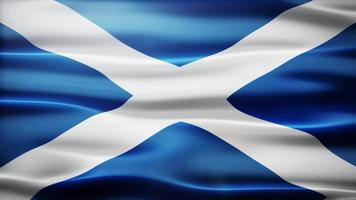 Scotland Flag Loop