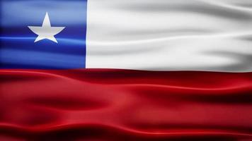 ciclo di bandiera del Cile video